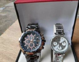 Trendy Stylish Couple Watches