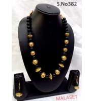 Mala Set With Earring