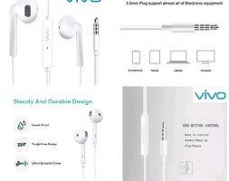 Universal Wired Earphone With Mic