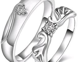 Diva Graceful Couple Finger Rings Combo