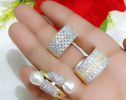 Diva Gracefull Women's Finger Rings Combo