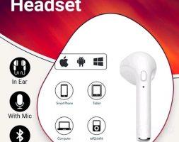 Portable Wireless Bluetooth Headset Vol 8