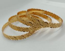 Poonam Set of 4 Brass Enamel for Dailywear