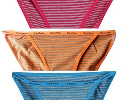 Low Waist Bikini Panty for Girls (Multicolour)-Combo Pack of 2