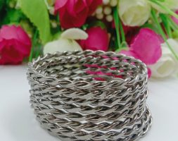 Shiny Traditional Silver Plated Bangles for Baby Girl