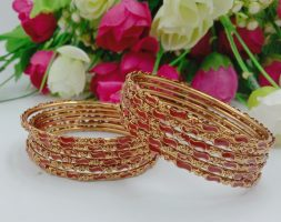 Gold Plated Fancy Bangle for Girl and Women
