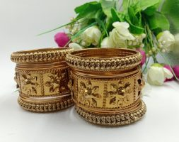 Bridal Handcrafted Rajasthani Rajputi Chudas Set for Women and Girl