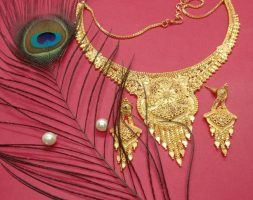 Traditional Jewellery Gold Plated with Jewellery Set for Women