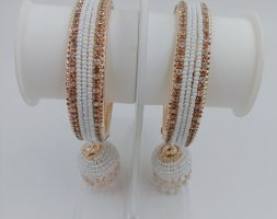 Set of One Gram Gold Plated Traditional Bangles for Women and Girls