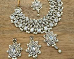 undan Necklace Set for Women Traditional Jewellery Set with Earrings for Women and Girls