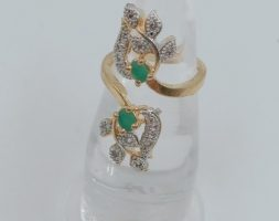 American Diamond Finger Ring Party wear Ring Jewellery for Girls & Women