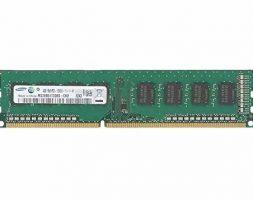 Samsung 4GB DDR3 PC3 12800-1600MHz 240 PIN DIMM Desktop Module Samsung RAM Memory Upgrade