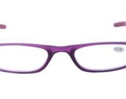 Purple Rectangular Frame Reading Glass