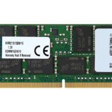 Kingston RAM KVR21S15D8/16 16GB DDR4 RAM Laptop SODIMM