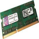 Kingston ValueRAM KVR1066D3S8S7/2G 2GB DDR3 RAM Laptop SODIMM
