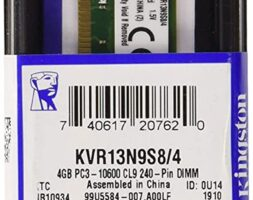 Kingston KVR13N9S8/4 Value RAM 4GB DDR3 240-pin DIMM
