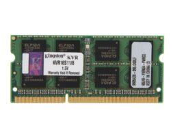 Kingston KVR16S11/8 8GB DDR3 RAM Laptop SODIMM