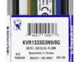 KingstoN RAM 8GB DDR3 240-pin DIMM